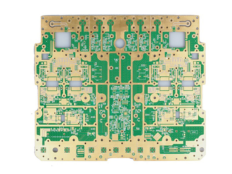 4 layer rogers+FR4 PCB